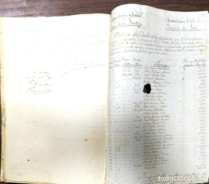 Manuscritos antiguos: ARCOS DE LA FRONTERA. 1885. EXPEDIENTE DE HACIENDA. RELACION DE DEUDORES. - Foto 60 - 169267280