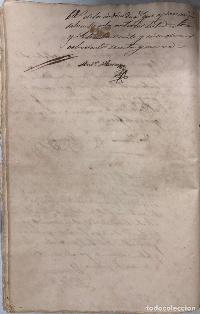 Manuscritos antiguos: ARCOS DE LA FRONTERA, 1869-70. RELACION DE DEUDORES DE LA CONTRIBUCION TERRITORIAL. LISTA TRIMESTRAL - Foto 15 - 169270744