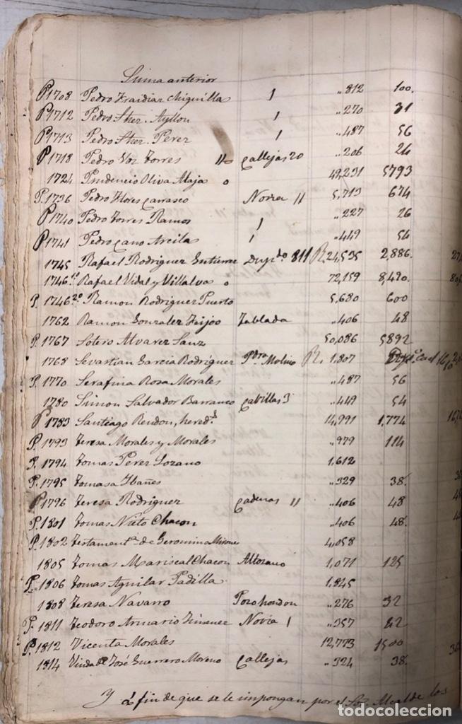 Manuscritos antiguos: ARCOS DE LA FRONTERA, 1869-70. RELACION DE DEUDORES DE LA CONTRIBUCION TERRITORIAL. LISTA TRIMESTRAL - Foto 28 - 169270744