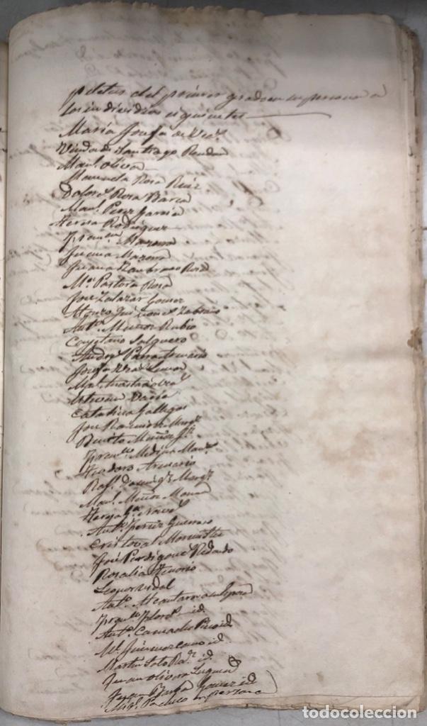 Manuscritos antiguos: ARCOS DE LA FRONTERA, 1869-70. RELACION DE DEUDORES DE LA CONTRIBUCION TERRITORIAL. LISTA TRIMESTRAL - Foto 49 - 169270744