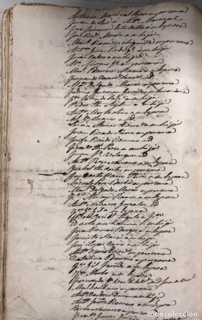 Manuscritos antiguos: ARCOS DE LA FRONTERA, 1869-70. RELACION DE DEUDORES DE LA CONTRIBUCION TERRITORIAL. LISTA TRIMESTRAL - Foto 52 - 169270744