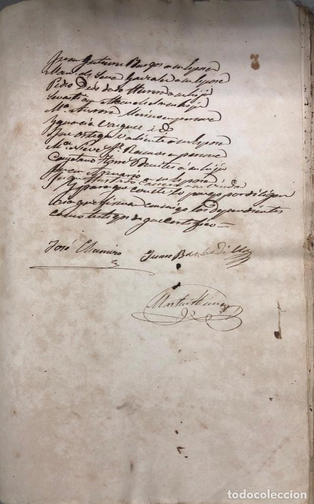 Manuscritos antiguos: ARCOS DE LA FRONTERA, 1869-70. RELACION DE DEUDORES DE LA CONTRIBUCION TERRITORIAL. LISTA TRIMESTRAL - Foto 53 - 169270744