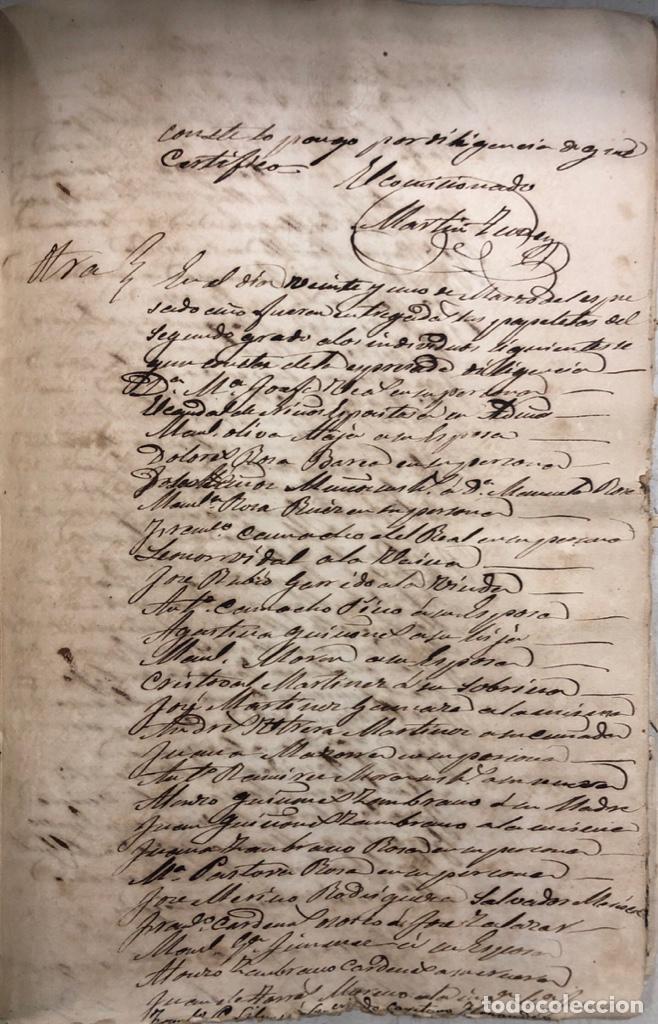 Manuscritos antiguos: ARCOS DE LA FRONTERA, 1869-70. RELACION DE DEUDORES DE LA CONTRIBUCION TERRITORIAL. LISTA TRIMESTRAL - Foto 63 - 169270744