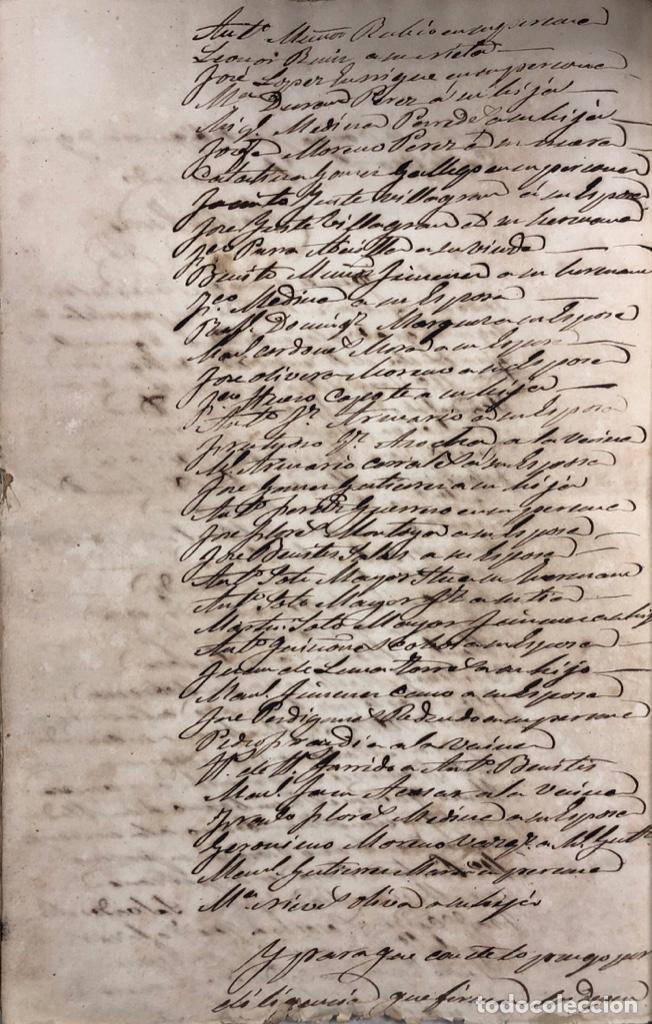 Manuscritos antiguos: ARCOS DE LA FRONTERA, 1869-70. RELACION DE DEUDORES DE LA CONTRIBUCION TERRITORIAL. LISTA TRIMESTRAL - Foto 64 - 169270744