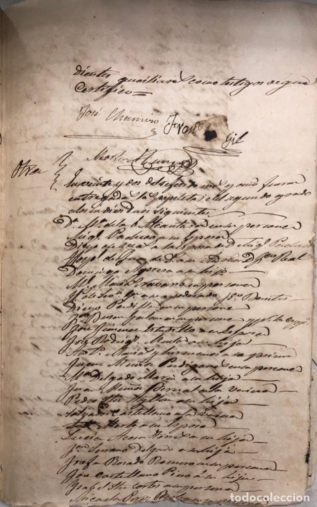 Manuscritos antiguos: ARCOS DE LA FRONTERA, 1869-70. RELACION DE DEUDORES DE LA CONTRIBUCION TERRITORIAL. LISTA TRIMESTRAL - Foto 65 - 169270744