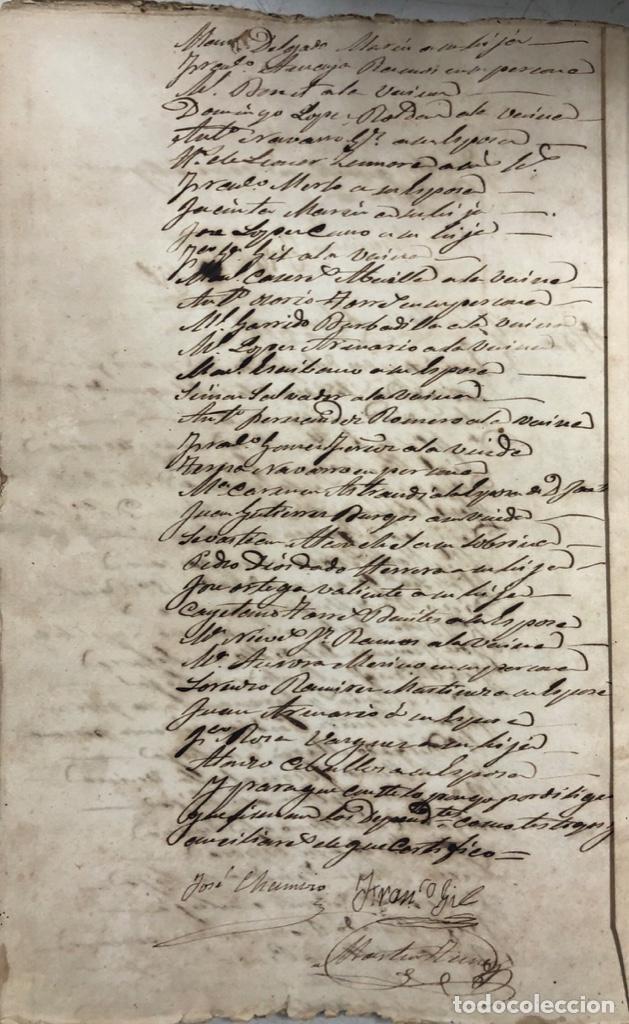 Manuscritos antiguos: ARCOS DE LA FRONTERA, 1869-70. RELACION DE DEUDORES DE LA CONTRIBUCION TERRITORIAL. LISTA TRIMESTRAL - Foto 66 - 169270744