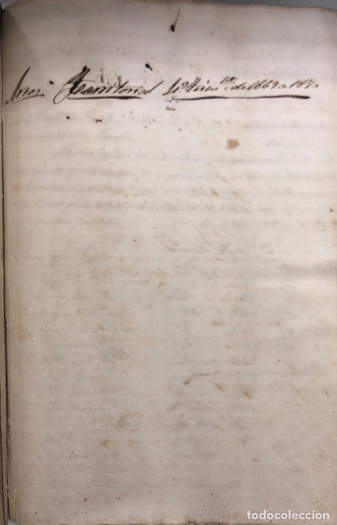Manuscritos antiguos: ARCOS DE LA FRONTERA, 1869-70. RELACION DE DEUDORES DE LA CONTRIBUCION TERRITORIAL. LISTA TRIMESTRAL - Foto 67 - 169270744