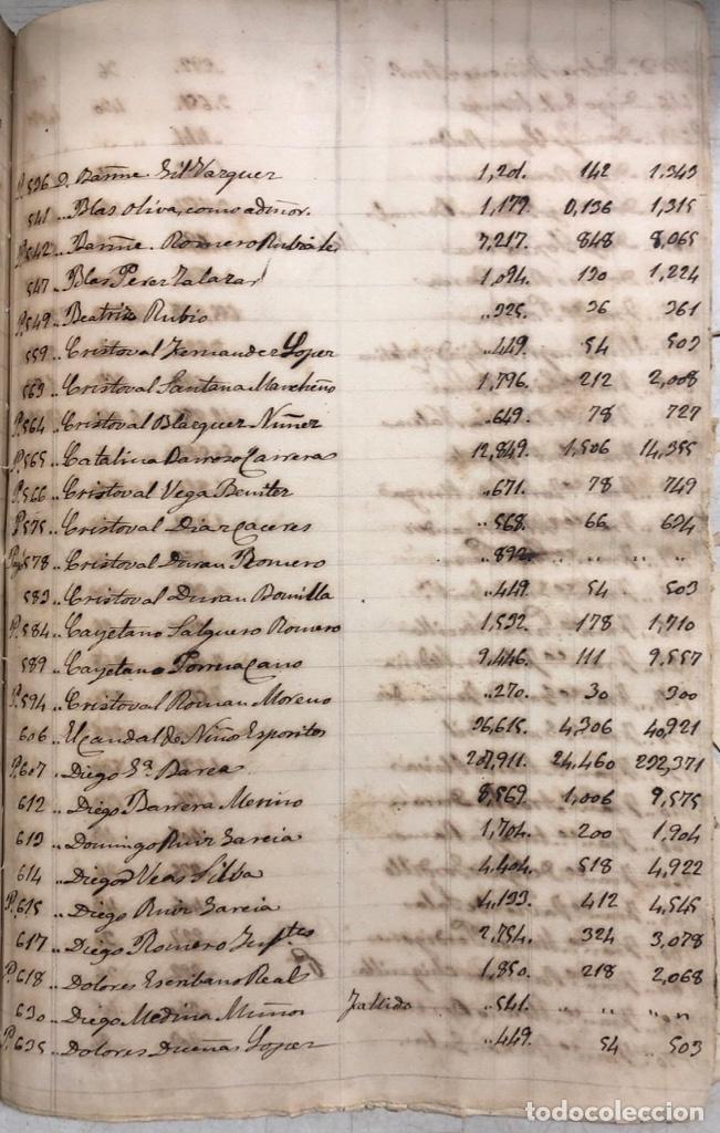 Manuscritos antiguos: ARCOS DE LA FRONTERA, 1869-70. RELACION DE DEUDORES DE LA CONTRIBUCION TERRITORIAL. LISTA TRIMESTRAL - Foto 72 - 169270744