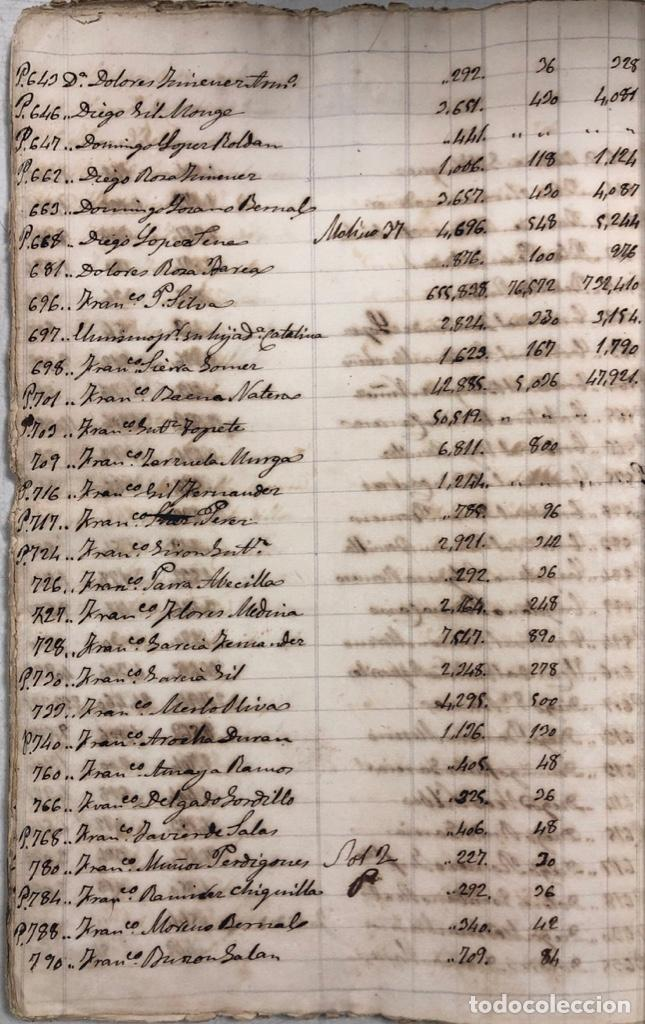 Manuscritos antiguos: ARCOS DE LA FRONTERA, 1869-70. RELACION DE DEUDORES DE LA CONTRIBUCION TERRITORIAL. LISTA TRIMESTRAL - Foto 73 - 169270744