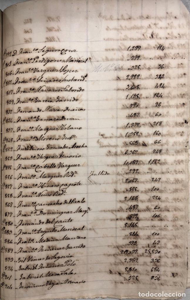 Manuscritos antiguos: ARCOS DE LA FRONTERA, 1869-70. RELACION DE DEUDORES DE LA CONTRIBUCION TERRITORIAL. LISTA TRIMESTRAL - Foto 74 - 169270744