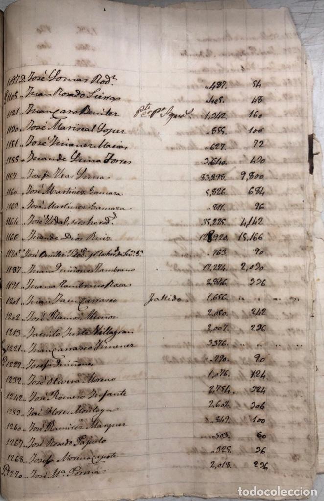 Manuscritos antiguos: ARCOS DE LA FRONTERA, 1869-70. RELACION DE DEUDORES DE LA CONTRIBUCION TERRITORIAL. LISTA TRIMESTRAL - Foto 76 - 169270744