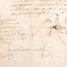 Manuscritos antiguos: MANUSCRITO NOTARIAL DE 1680 - VILASSAR. Lote 169752172