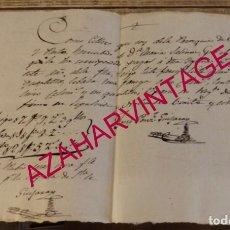 Manuscritos antiguos: 1829, SEPULVEDA, SEGOVIA, RECIBO DIEZMO IGLESIA DE SAN JUSTO Y PASTOR. Lote 170019748