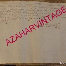 Manuscritos antiguos: SEPULVEDA, SEGOVIA, 1753, DONATIVO A HOSPITAL DE LA CRUZ, MAÑANA DE PASCUA Y VISPERA DE LA CRUZ, RAR. Lote 170052260