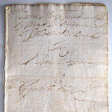 Manuscritos antiguos: VILLAVERDE DE ARCAYOS (LEÓN) - DOCUMENTO OCHO SELLOS 4º 20 MARAVEDÍS AÑO 1716. Lote 170432596