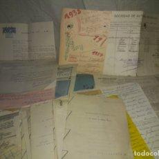 Manuscritos antiguos: LOTAZO DE DOCUMENTACION ORIGINAL DEL ESCRITOR TEATRAL ANTONIO DE ARMENTERAS - AÑO 1932.. Lote 171140108