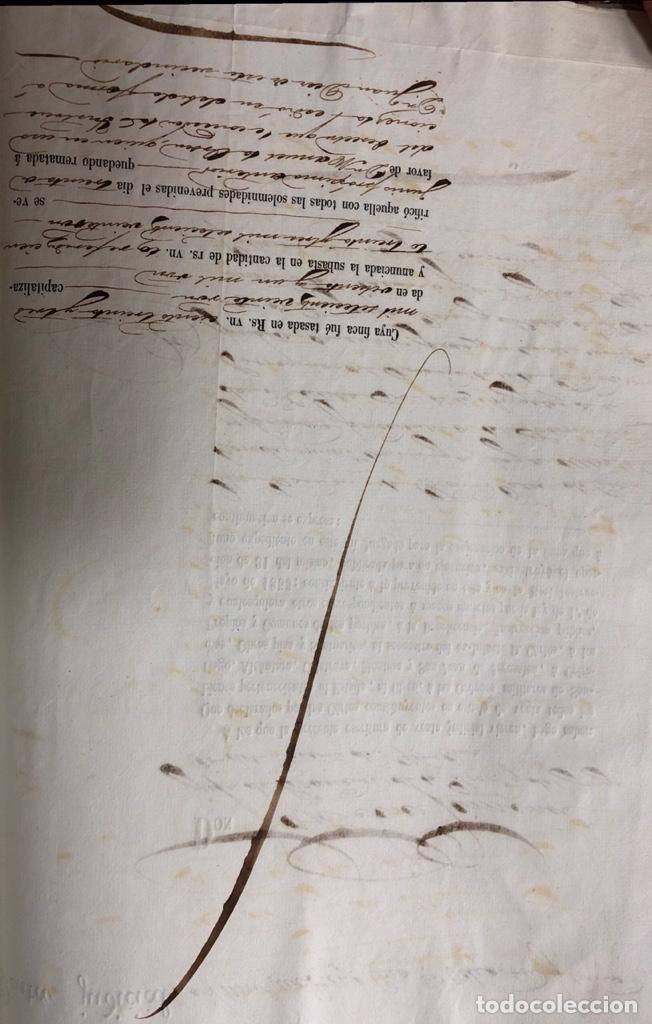 Manuscritos antiguos: CADIZ, 1859. VENTA JUDICIAL. COMPRA DE LA ESCRITURA DE UNA CASA EN LA CALLE PEDRO CONDE Nº32. - Foto 3 - 171397387