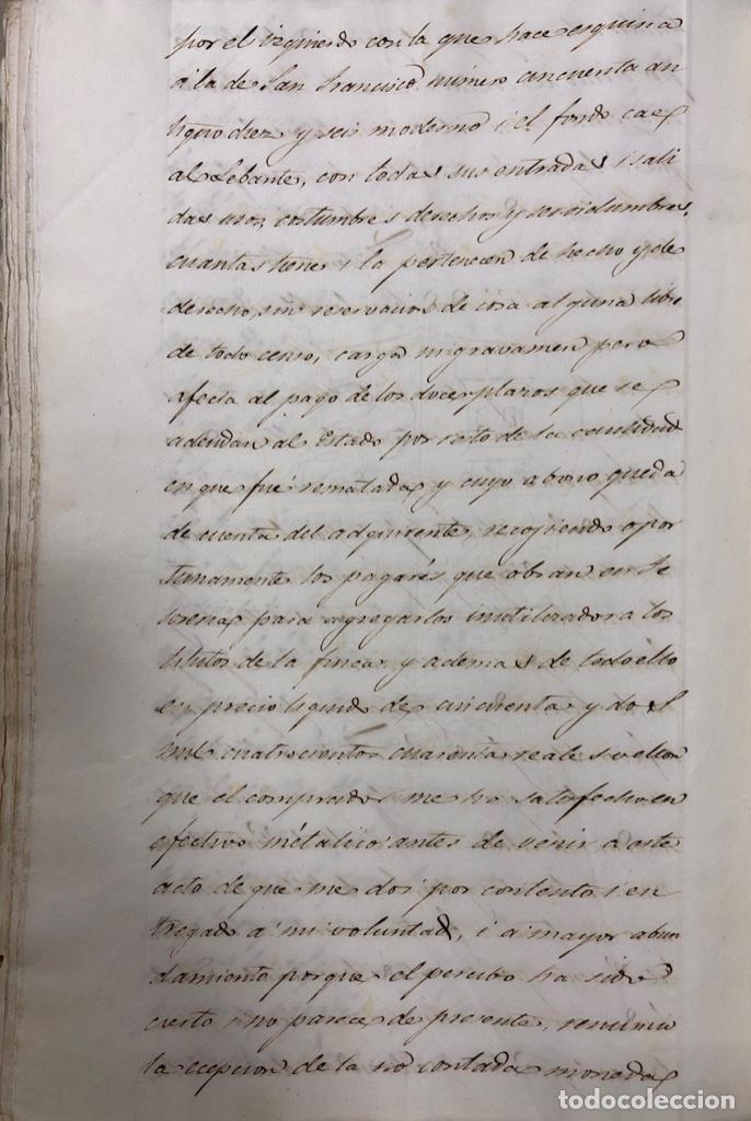 Manuscritos antiguos: CADIZ, 1859. VENTA JUDICIAL. COMPRA DE LA ESCRITURA DE UNA CASA EN LA CALLE PEDRO CONDE Nº32. - Foto 21 - 171397387