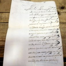 Manuscritos antiguos: MADRID, 1735, CARTA MANUSCRITA FIRMADA POR EL PRIMER MARQUES DE PERALES, RARA. Lote 171573029