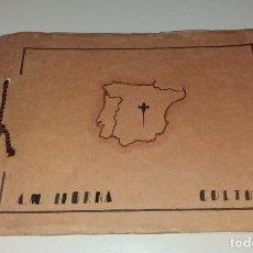 Manuscritos antiguos: PAPEL ANTIGUO. CUADERNO ESCOLAR MANUSCRITO CULTURA, CIUDADES ESPAÑOLAS 1944. SAGRADA FAMILIA BURDEOS. Lote 171745929