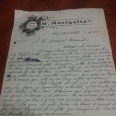 Manuscritos antiguos: BAZA GRANADA H. MARIQUITA 1923. Lote 172180522