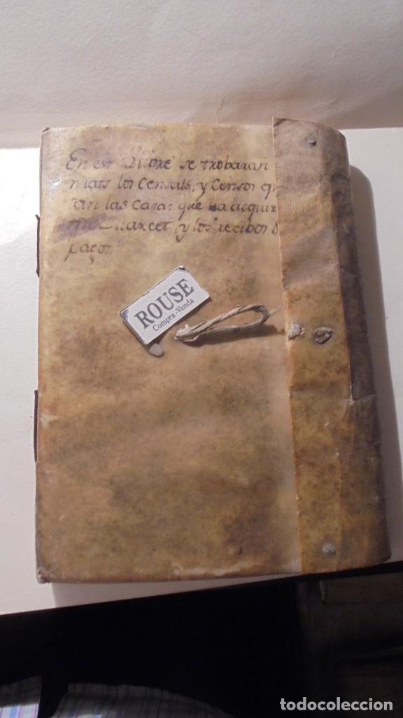 ANTIGUO MANUSCRITO LIBRO / LIBRETA BARCELONA / MATARO - VARIOS ESCRITO EN CATALAN (Coleccionismo - Documentos - Manuscritos)