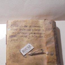 Manuscritos antiguos: ANTIGUO MANUSCRITO LIBRO / LIBRETA BARCELONA / MATARO - VARIOS ESCRITO EN CATALAN. Lote 172611230