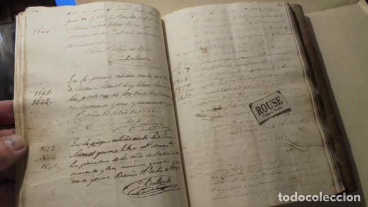 Manuscritos antiguos: ANTIGUO MANUSCRITO LIBRO / LIBRETA BARCELONA / MATARO - VARIOS ESCRITO EN CATALAN - Foto 5 - 172611230