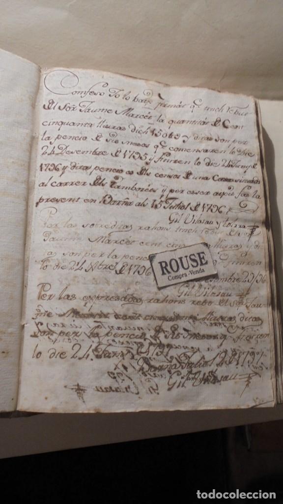 Manuscritos antiguos: ANTIGUO MANUSCRITO LIBRO / LIBRETA BARCELONA / MATARO - VARIOS ESCRITO EN CATALAN - Foto 6 - 172611230