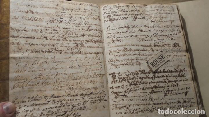 Manuscritos antiguos: ANTIGUO MANUSCRITO LIBRO / LIBRETA BARCELONA / MATARO - VARIOS ESCRITO EN CATALAN - Foto 7 - 172611230