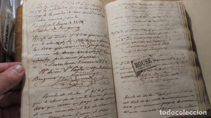 Manuscritos antiguos: ANTIGUO MANUSCRITO LIBRO / LIBRETA BARCELONA / MATARO - VARIOS ESCRITO EN CATALAN - Foto 8 - 172611230