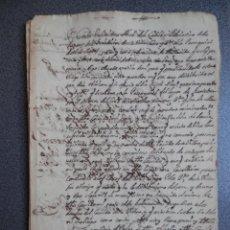 Manuscritos antiguos: 3 MANUSCRITOS Y PREFILATELIA AÑO 1703 AGREDA SORIA QUERELLA AL CABILDO ROBAN PAN DE POBRES 28 PÁGS. Lote 172809497