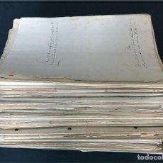 Manuscritos antiguos: MAS DE 110 ESCRITURAS Y DOCUMENTOS / CATALUNYA / BARCELONA / SIGLOS XIX - PRINCIPIOS DEL XX / OFERTA. Lote 172884482