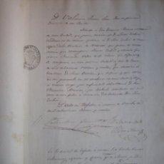 Manuscritos antiguos: MANUSCRITO AÑO 1864 TAFALLA NAVARRA EXTENSO INVENTARIO DE BIENES DE LUCAS ZUBIRI 31 PAGS. Lote 173481450