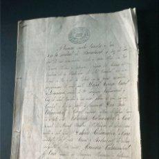 Manuscritos antiguos: SANT ANDREU DE LLAVANERES / FAMILIA CATAUMBERT / DESCRIPCION HEREDADES / 30 PAGINAS / MATARO / . Lote 173520542