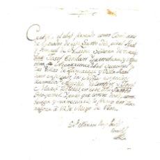 Manuscritos antiguos: ENTREGA DE DOS NIÑOS DE ZUMÁRRAGA A HOSPITAL DE ZARAGOZA. MAYO DE 1800. Lote 173620554