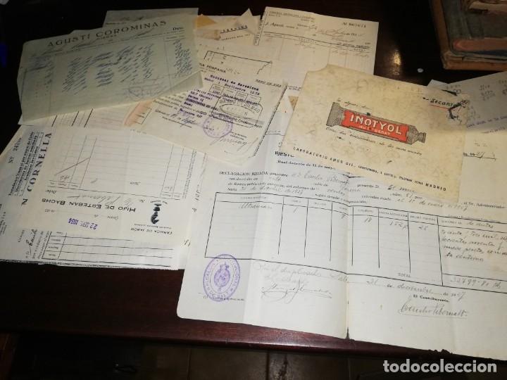 Manuscritos antiguos: 4 Diarios manuscritos de Emilio pibernat viader Alcalde en epoca republica de Salt Gerona Girona - Foto 3 - 173917134