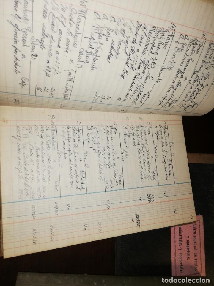 Manuscritos antiguos: 4 Diarios manuscritos de Emilio pibernat viader Alcalde en epoca republica de Salt Gerona Girona - Foto 4 - 173917134
