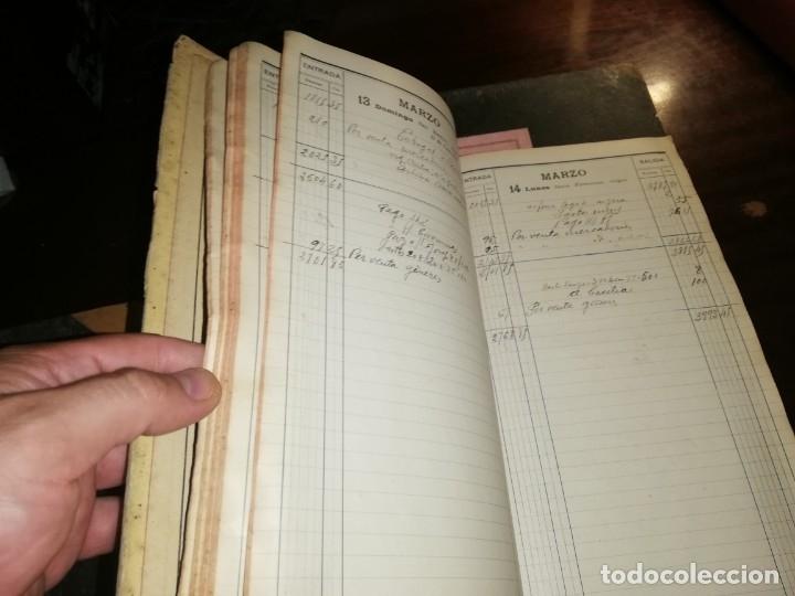 Manuscritos antiguos: 4 Diarios manuscritos de Emilio pibernat viader Alcalde en epoca republica de Salt Gerona Girona - Foto 7 - 173917134