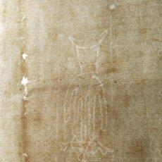 Manuscritos antiguos: HOJAS MANUSCRITAS MEDIEVALES CON FILIGRANA. Lote 173982648