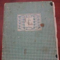 Manuscritos antiguos: DOCUMENTO ANTIGUO , 1872, MUY INTERESANTE.ALCOY. Lote 174325653