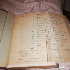 Manuscritos antiguos: 3 TOMOS ENCUADERNADOS CON ANOTACIONES MANUSCRITAS DEL ALMIRANTE ESPAÑOL FELIX OZAMIZ RODRIGUEZ. Lote 175300287