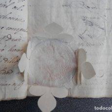 Manuscritos antiguos: DOS SELLOS LACRE LUJO CÁDIZ Y ARZOBISPO SEVILLA MANUSCRITO AÑO 1817 FISCALES 16 PÁGINAS. Lote 175466455