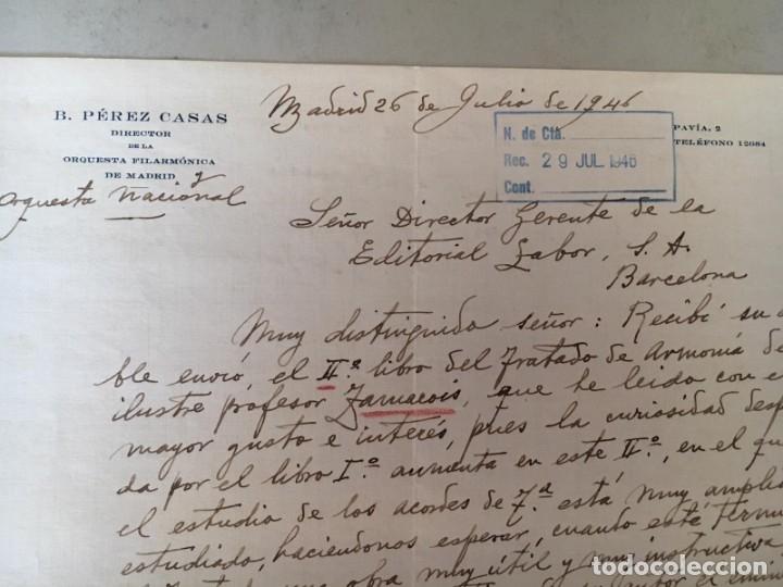 Manuscritos antiguos: BARTOLOMÉ PÉREZ CASAS - CARTA MANUSCRITA, LOCALIZADA, FECHADA Y FIRMADA - Foto 4 - 175718520
