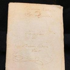 Manuscritos antiguos: ANTIGUA LIBRETA MANUSCRITA, PALABRAS EN LATIN, FINALES 1800-PPIOS 1900, VIC BARCELONA. Lote 175786003