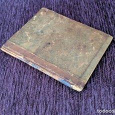 Manuscritos antiguos: ONE ROOM SCHOOLHOUSE LIBRARY JOURNAL DIARY MANUSCRIPT STOCKBRIDGE NEW YORK 1849. Lote 175836427