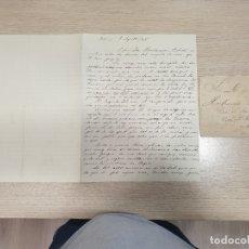 Manuscrits anciens: CARTA MANUSCRITA CON SOBRE - 1 DE AGOSTO DE 1906. Lote 176176220