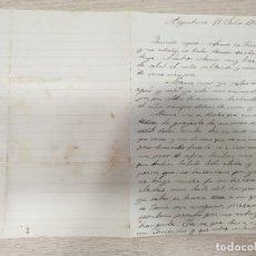 Manuscrits anciens: CARTA MANUSCRITA - 12 DE JULIO DE 1906. Lote 176176304