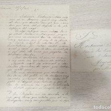 Manuscrits anciens: CARTA MANUSCRITA CON SOBRE - 31 DE JULIO DE 1906. Lote 176176364