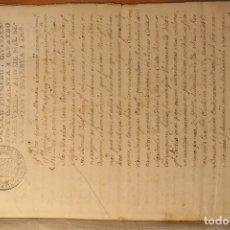 Manuscrits anciens: PERMUTA * MOIÀ 1741 Y VIC 1773 * PAPEL * LATÍN Y CATALÁN. Lote 176199043